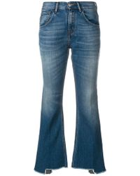 Haikure - Flared Cropped Jeans - Lyst