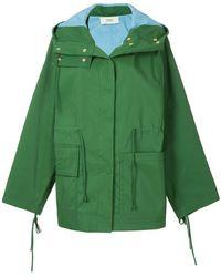 Ports 1961 - Oversized Hooded Jacket - Lyst
