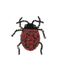 Rochas - Ladybug Brooch - Lyst