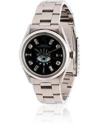 Jacquie Aiche - Black Rolex Eye Stainless Steel Watch - Lyst