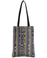 Saint Laurent - Antibe Ikat Flat Shopping Bag - Lyst