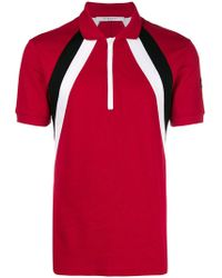 5550fd9a9 Lyst - Givenchy Givenchy Printed Polo Shirt in Red for Men