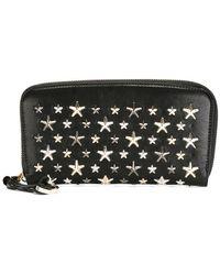 Jimmy Choo - Star Embellished Wallet - Lyst