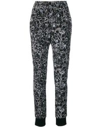 A.F.Vandevorst - Printed Tapered Pants - Lyst