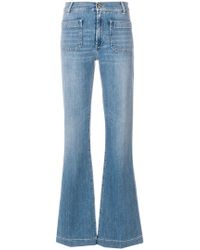The Seafarer - High-waist Flared Jeans - Lyst