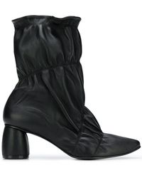 Reike Nen - Ruched Detail Boots - Lyst