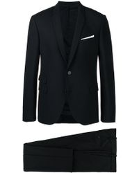 Neil Barrett - Perfectly Fitted Suit - Lyst