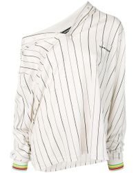 Y. Project - Off The Shoulder Baseball Jersey - Lyst
