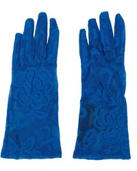 Gucci - Floral Lace Gloves - Lyst