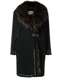 Bazar Deluxe - Trimmed Mid-length Coat - Lyst