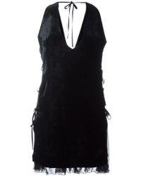 DSquared² - Ruffled Hem Dress - Lyst