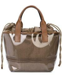 Brunello Cucinelli - Drawstring Tote Bag - Lyst