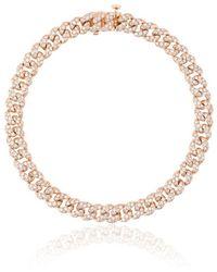 SHAY | Mini Pave Link Diamond Bracelet | Lyst