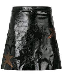 Manokhi - Star Patch A-line Skirt - Lyst