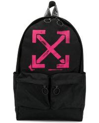 Lyst - Off-White C O Virgil Abloh Skull Backpack in Black 6f48d2c21f6f1