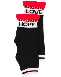 Dorothee Schumacher - Graceful Stripes Socks - Lyst