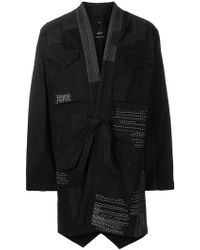 Maharishi - Belted Coat - Lyst
