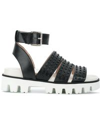RED Valentino - Studded Platform Sandals - Lyst