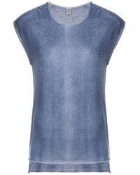 Eleventy - Round Neck T-shirt - Lyst
