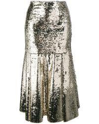Emilia Wickstead | Le-roy Sequinned Midi-skirt | Lyst