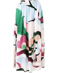 Emilio Pucci - High-waisted Skirt - Lyst