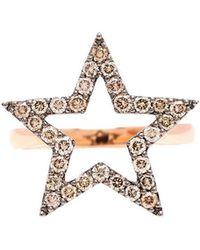 Rosa De La Cruz - Diamond Star Ring - Lyst