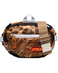 Heron Preston - Multicoloured Ctnmb Camouflage Print Padded Cross Body Bag - Lyst