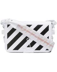 Off-White c/o Virgil Abloh - Mini Diagonal Binder Clip Bag - Lyst