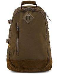 Visvim - Brown Cordura 20l Backpack - Lyst