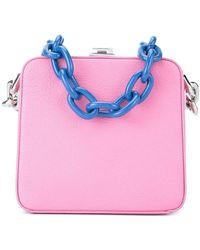 the VOLON - Cube Chain Bag - Lyst