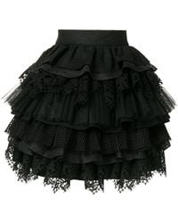 Fausto Puglisi - Layered Full Skirt - Lyst