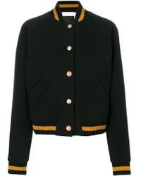 See By Chloé | Cropped Bomber Jacket | Lyst