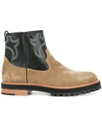 Sacai - Western-stitched Boots - Lyst