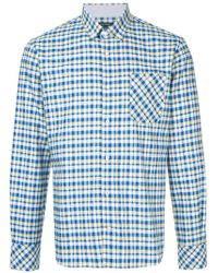 Guild Prime - Check Collared Shirt - Lyst