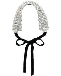 Alessandra Rich - Tie-back Headband - Lyst