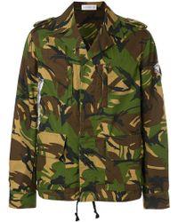 Faith Connexion - Camouflage Jacket - Lyst