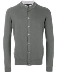 Dell'Oglio - Button Fastening Cardigan - Lyst