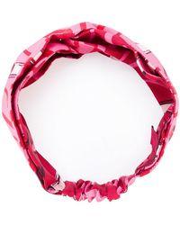 Valentino - Printed Hairband - Lyst