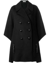 COACH - Oversized Double Breasted Coat - Lyst