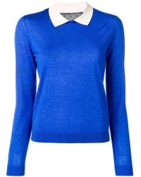 RED Valentino - Peter Pan Collar Jumper - Lyst