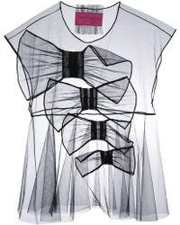 2654ed77ba Viktor   Rolf - So Many Bows Icon 1.3 T-shirt - Lyst