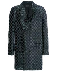 Haider Ackermann - Checked Coat - Lyst