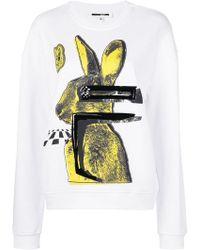 McQ Alexander McQueen | Bunny Print Sweatshirt | Lyst
