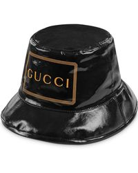 0d00378aa1ee7c Gucci Embroidered Canvas Baseball Hat in Black for Men - Save 28% - Lyst