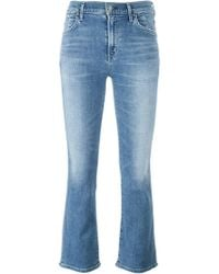 Citizens of Humanity - Bootcut Cropped Jeans - Lyst