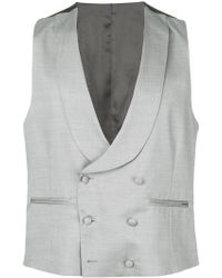Dell'Oglio - Double-breasted Waistcoat - Lyst