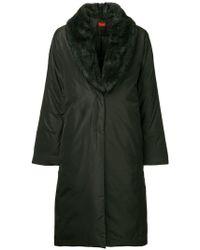 DES PRÉS - Detachable Collar Padded Coat - Lyst
