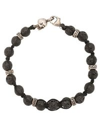 Roman Paul - Skull Bead Bracelet - Lyst