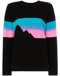 The Elder Statesman - Rambler Mountain Print Cashmere Jumper - Lyst