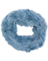 Yves Salomon - Furry Collar - Lyst